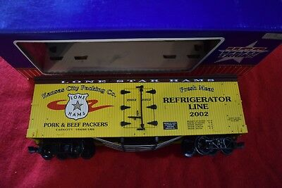 """Usa Trains Billboard Reefer """"kansas City """" ## Made In The Usa ## Boxed Exc Con"""