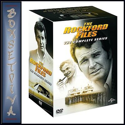 The Rockford Files Complete Series 1 2 3 4 5 & 6  *brand New Dvd Boxset