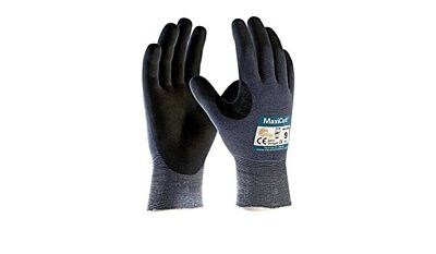 ATG MAXICUT ULTRA CUT RESISTANT SAFETY GLOVES 1Pair Palm Coated- Size 8 (M)
