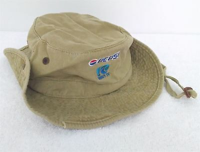 Pepsi Tides Boonie Outback Hat WAVY TV Promotional Light Olive Green