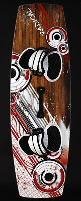 Radical kiteboard - complete with pads,straps,handle, fins,regular or lightwind