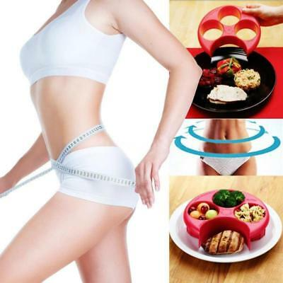 Hot ! Meal Measure Portion Control Cooking Tool Lose Weight Health Eating Plates
