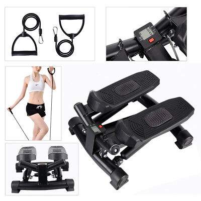 Mini Stepper Exercise with Resistance Workout Cord AEROBIC Fitness Gym Climber
