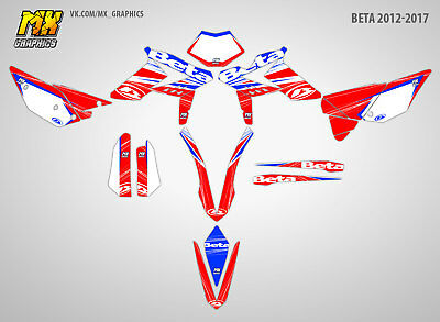 MX Graphics Stickers Kit Decals BETA 2012-2017