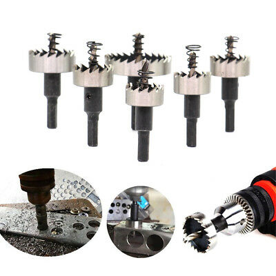 12PCS Hole Saw Tooth Kit Drill Bit Set Stainless Steel Alloy Cutter 15mm - 50mm