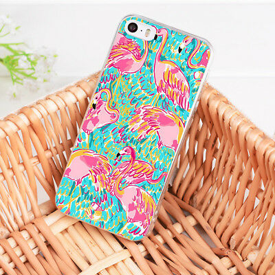 61af2bbd4f396 LILLY PULITZER OH SHELLO iPhone 4 4S 5 5S 5C 6 6S 7 8 Plus X SE ...