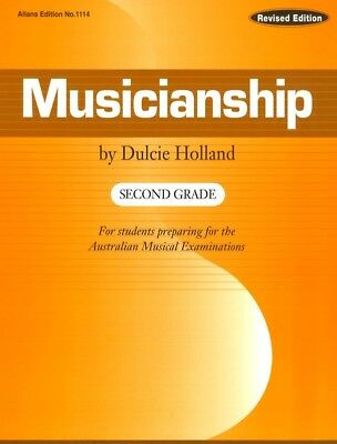 Musicianship Second Grade by Dulcie Holland - Music Theory Book