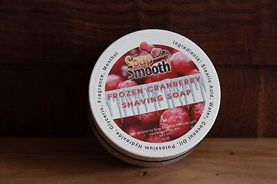 Savon à Raser Soap Smooth Frozen Cranberry NEUF New Shaving soap Rasage Barbe
