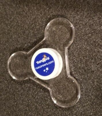Toys R Us Brand New Clear Spinner Collectible