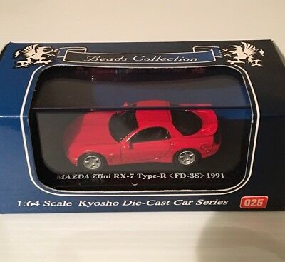 Kyosho Mazda Rotary Efini Rx7 Type-R Fd3S 1991 1/64 Scale