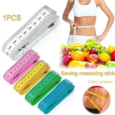 "Retractable cloth Measuring Ruler Sewing Tailor Tape Measure Household 60"" 1.5M"