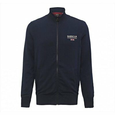 Barbour Pride Zip Thru Cardigan, Dark Navy