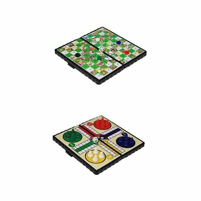 Magnetic Travel Board Games Mini  Ludo, Snakes and Ladders and Chess Game