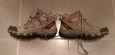 Merrell Mens Hiking Shoes Boot High Top Size US 11 UK 10.5 - Air Cushion Sole