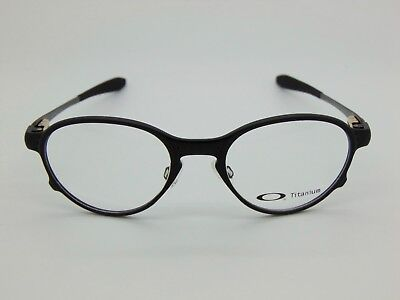 875ffe4a9dd NEW Authentic OAKLEY OVERLORD OX5067-0251 Satin Black Titanium 51mm  Eyeglasses