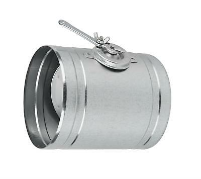 Chimney Pipe Metal Lever Damper /  Throttle Ducting Tube Shutter with Handle