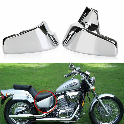 Chrome Battery Side Cover For Honda VT600 Shadow VLX400 600 Deluxe 1999-2007