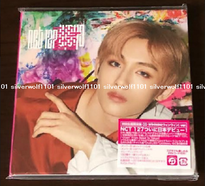 NCT 127 Chain First Limited Edition CD+booklet+Card WINWIN ver. AVCK-79472 Japan