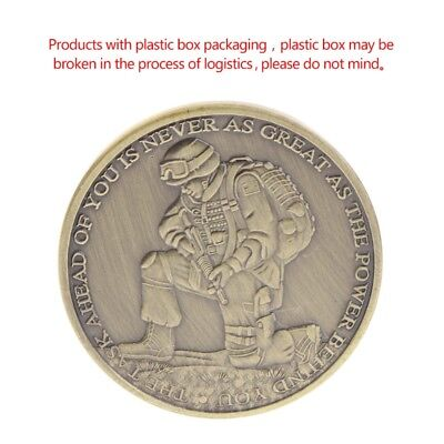 Ephesians Positive Words Strong Commemorative Collection Coin Arts Gift Souvenir