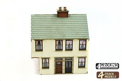 4TrackModels Alnwick Walk House with Ginnel Kit SR105 OO Scale - suit HO Also