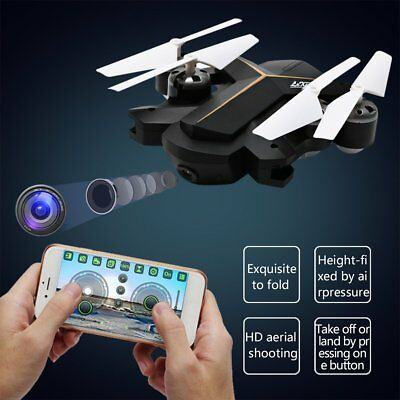 Pocket MINI Selfie Foldable Drone Camera WIFI FPV RC Quadcopter Altitude Hold LN