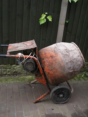 belle electric 240v  concrete cement mixer diy ect collection staffordshire