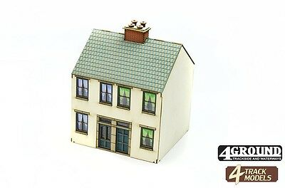 4TrackModelsAlnwick Walk House Kit SR104 OO Scale - suit HO Also