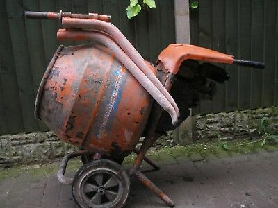 belle honda petrol gx120  concrete cement mixer stand collection staffordshire