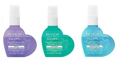 Revlon Equave Instant Beauty Blonde Hydro Volumizing Detangling Spray 50 Ml