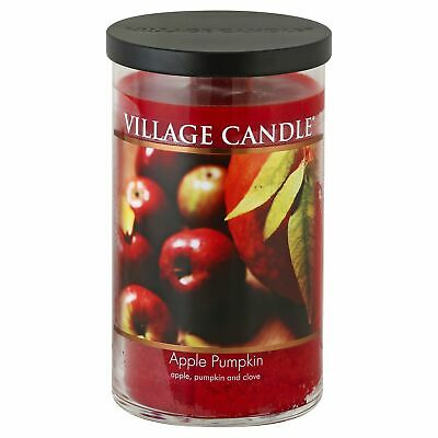 Vc Cndl Jar Decor Apple Pumpkn,Size 24Z,Pack of 3, Vc Cndl Jar Decor Apple Pumpk