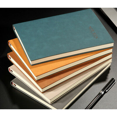 A5 Business Office School Notebook Journals Vintage Writing Book Diaries Planner
