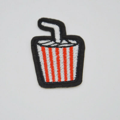 Coke logo Embroidered Sew IronOn Patches Badge Fabric Bag Clothes Applique Hat