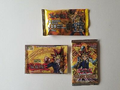 Yu-Gi-Oh! Pharaonic Guardian Booster Pack, Mini Stickers or Magnets New In Pack