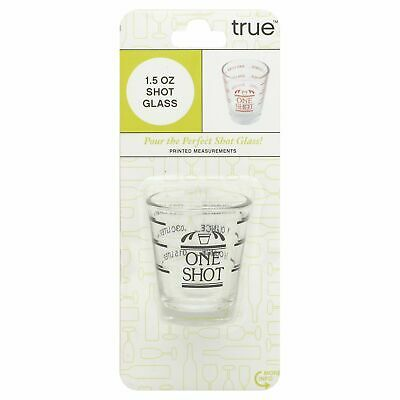 Tf Shot Glass - Measured,Size EA,Pack of 3, Tf Shot Glass - Measured,by TrueFabr