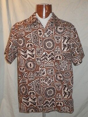 Rare 1973 Hawaiian Shirt Size Large National Life Business Leaders Conference