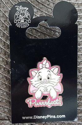 Disney Parks Pin Purrrfect Kitten Cat Marie from The Aristocats New On Card OE