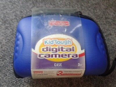 Fisher Price Kid Tough Digital Camera Case-New/blue