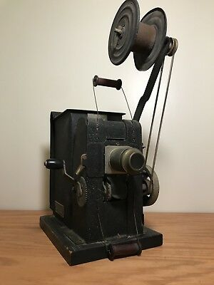 Antique Keystone Moviegraph - Model 575 Hand-Crank Projector - Great Condition