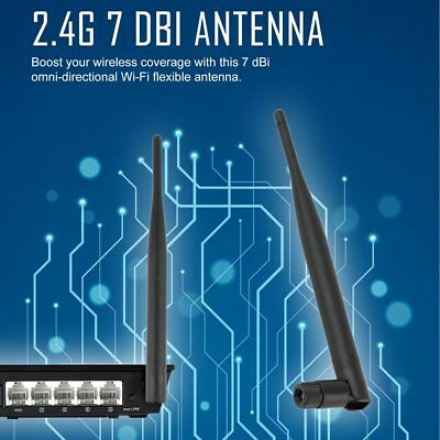 WiFi Antenna Booster 7dBi 2.4GHz for wireless LAN WLAN Q6D7