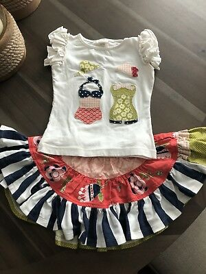 Persnickety Girls Summer outfit size 2