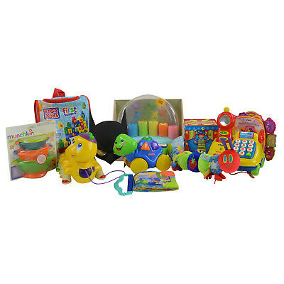 Baby Toddler Soft Plush Educational Activity Book Toy Lot 12-36m