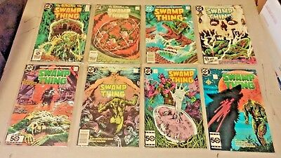 Swamp Thing Lot of 8 Issues 1984 -1985