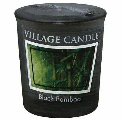 Vc Cndl Votive Black Bamboo,Size EA,Pack of 24, Vc Cndl Votive Black Bamboo,by V