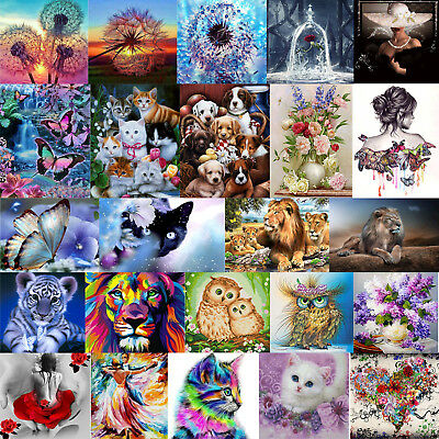 5D Diamond Painting Embroidery Cross Stitch Pictures Arts Craft Kit Mural Decor