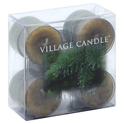 Vc Tlght Balsam Fir,Size 10 CT,Pack of 3,by Village Candle