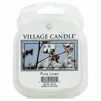 Vc Melts Pure Linen,Size EA,Pack of 8, Vc Melts Pure Linen,by Village Candle