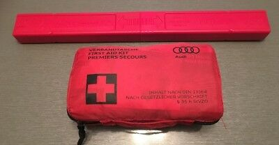GENUINE Audi First Aid Kit &WARNING TRIANGLE