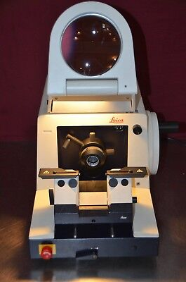 Leica Instruments RM 2065 RM2065 Rotary Microtome & Magnifier *W/O Knife Holder*
