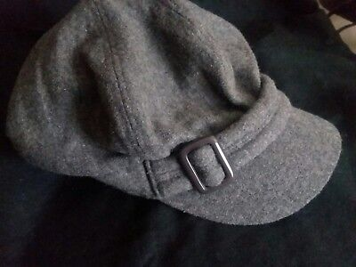d0be50d33a9ad Nine West NEWSBOY Conductor Hat Grey One Size