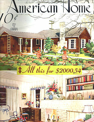 July 1941 The American Home Magazine-Architectural-Great Vintage Ads-Rare